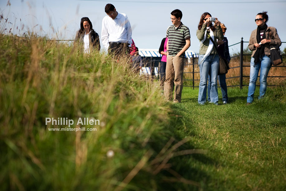 Our second stop was at Knowlton Church deep in the Dorset countryside. The grass was springy and inviting so I thought I