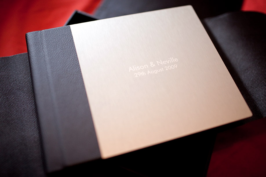 Wedding Album Cover Samples. This sample comes with a